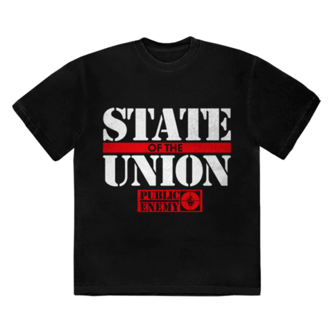 √STATE OF THE UNION von Public Enemy - T-Shirt jetzt im Public Enemy Shop