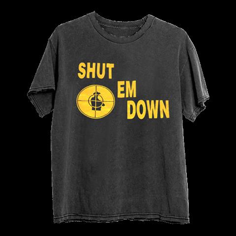 √SHUT EM DOWN von Public Enemy - T-Shirt jetzt im Public Enemy Shop