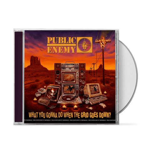 √What You Gonna Do When The Grid Goes Down von Public Enemy - CD jetzt im Public Enemy Shop
